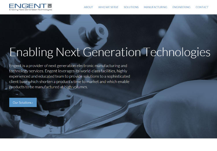 New website's bold look and enhanced navigation allows customers and prospects to easily explore how Engent can help keep pace with changing market demands and accelerate their product development life cycle.