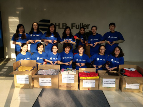 H.B. Fuller China Volunteering