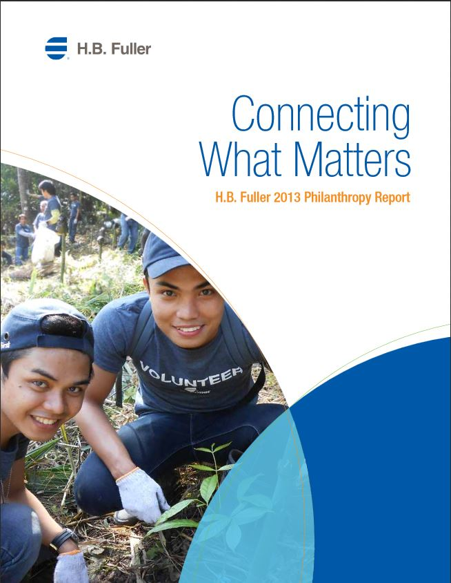 The H.B. Fuller 2013 Philanthropy Report