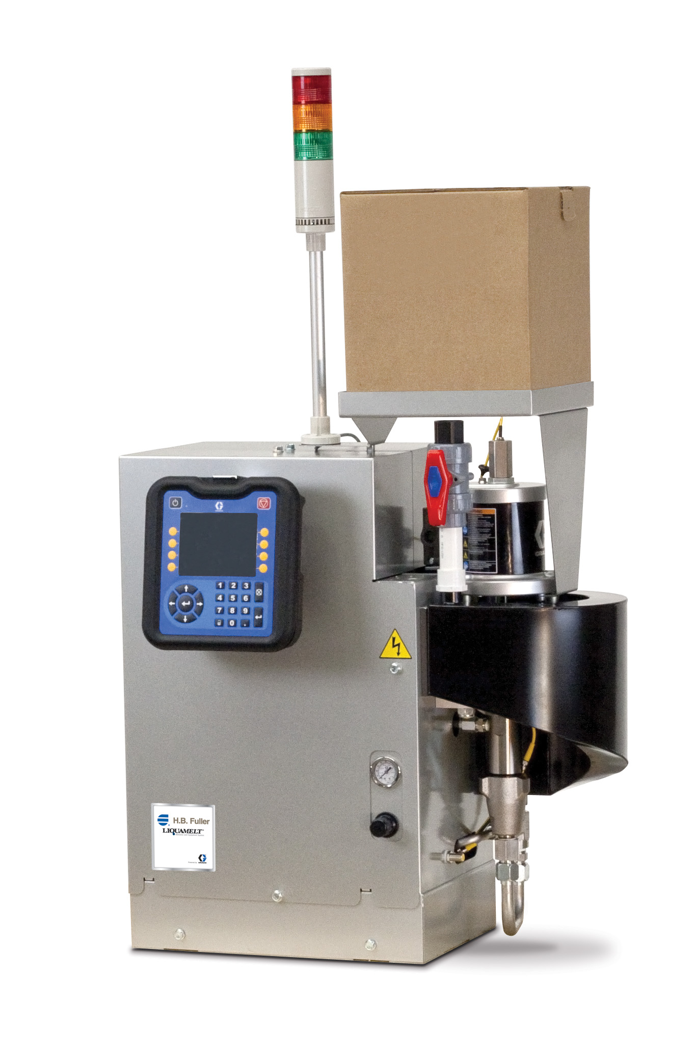 image of a H.B. Fuller/ Graco Liquamelt application Machine