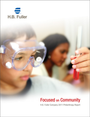 image of the H.B. Fuller Philanthropy Report 2011