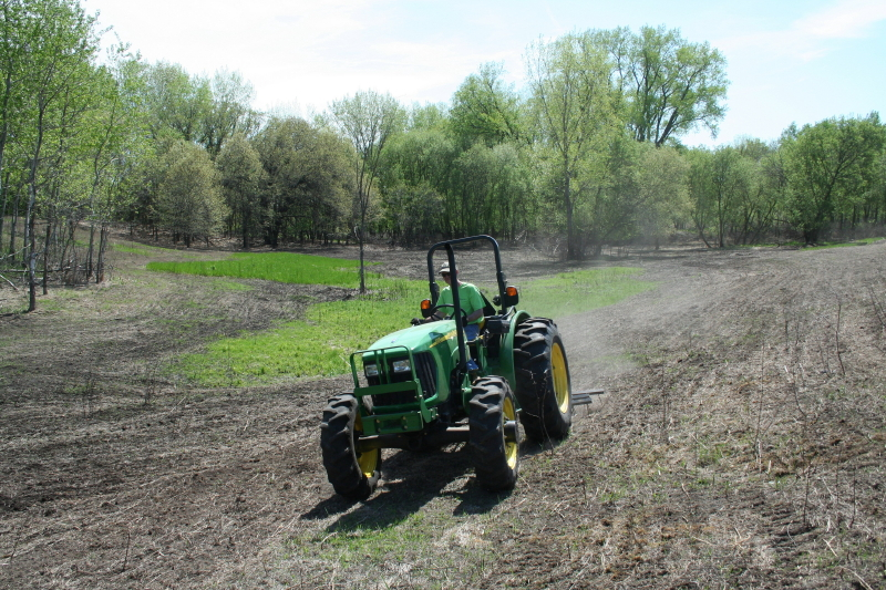 H.B. Fuller is restoring an area of its Willow Lake site to native prairie.