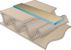 H.B. Fuller Sesame Kraft Backed Tape | The brand you trust for corrugated packaging reinforcement.