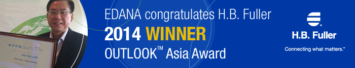 H.B. Fuller Wins OUTLOOK Asia Award