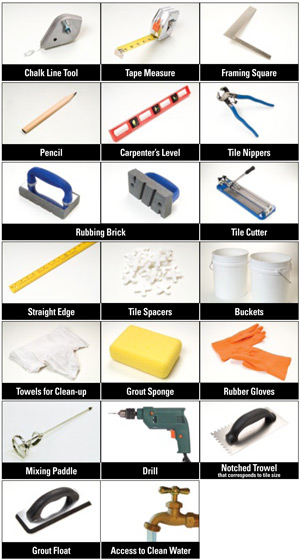 Tile Installation Tools